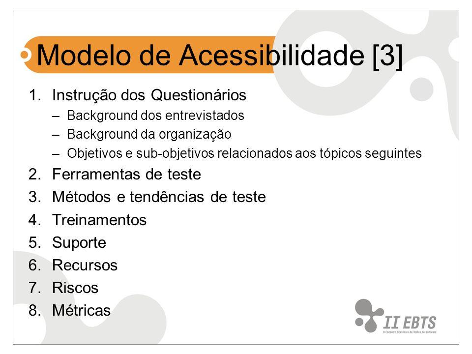 Modelo de Acessibilidade [3]